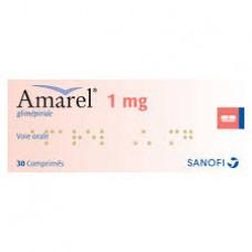 Amarel 1 mg comprime boite de 30
