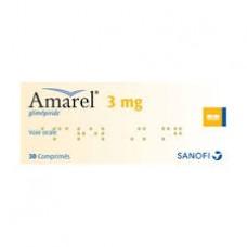 Amarel 2mg comprime boite de 30