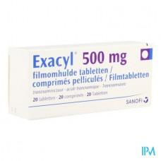 exacyl 500mg comp b 20