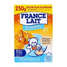 france lait riz miel