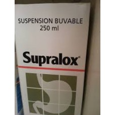 supralox   suspension buvable flacon 250mg