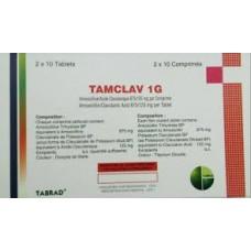 tamclav 1g comprime pell boite-20