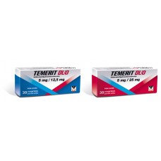 temerit duo 5mg-12.5mg 30 comprime