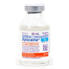 xylocaine 1-pour-cent  adrenaline 20ml