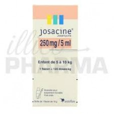 Josacine 250mg suspension buvable flacon  de 60ml