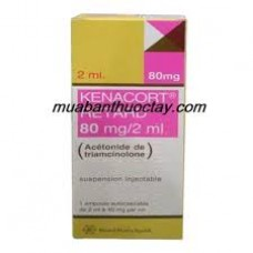 Kenacort retard 80mg 2ml suspension injectable boite de 1 ampoule 1 seringue 2 aiguilles de 2ml
