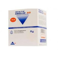 AMOCLAN BID 400 mg  57mg susp buv Flacon de 70 ml