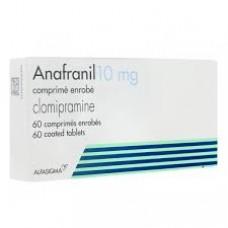 Anafranil 10mg comprime enrobe boite de 60