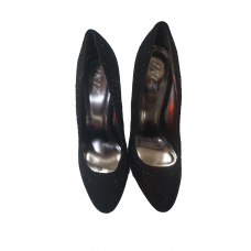 ladies high-heeled shoes - color black - size 39 - brand IKIZ