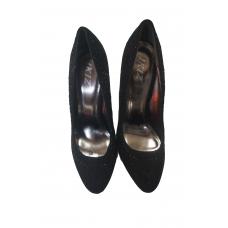 chaussures à talons aiguilles dames - couleur noir - pointure 39 - marque IKIZ