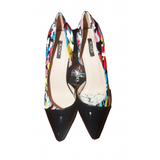 Multicolor Style Stiletto Heel Pumps  WomensJumex Size 40 Size with Spare Heel Sole