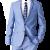 Veste-Costume 2 pieces avec Chemise et noeud