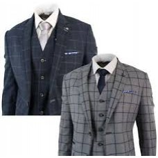 COSTUME-VESTE - Tiled JACKET with shirt and knot include