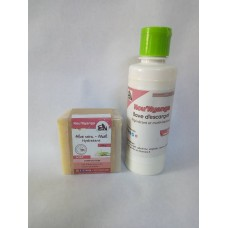 Body Milk  Snail slime NOU NYANGA 250ml and  Aloe Vera Honey Soap 150 g