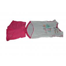 ensemble culotte plus shirt pour fille