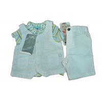 complete overalls for children from 1 to 6 months