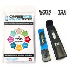 Complete Water Test Kit With TDS Meter-Home Testing With Results In Minutes