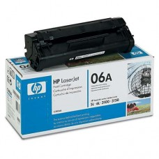 HP 06A Black Original LaserJet Toner Cartridge (C3906A)