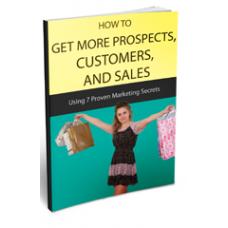 How To Get More Prospects Customers And Sales - Comment obtenir plus de clients
