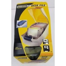 Fellowes 90211 3-5 Disk File Storage Diskette Case Holds 40-684