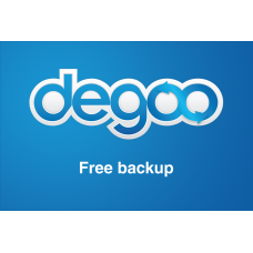 FREE SOFTWARE Degoo - 100 GB Free Cloud Backup