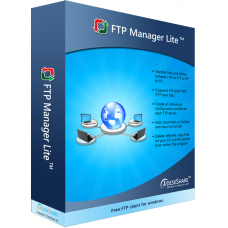 Free fast FTP client supports secure transfers and multiple connections