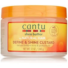 Cantu Shea Butter for Natural Hair Curling Custard, 12 Ounce