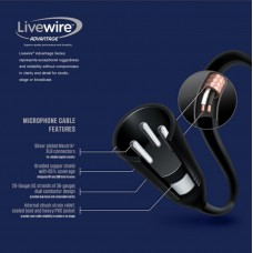 Livewire Advantage XLR Microphone Cable 5 ft