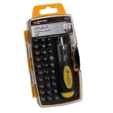 Ratchet Screwdriver Set (38 pc) Made in USA