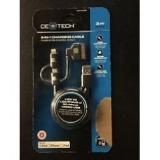 CEE TECH 3 Foot Lighted USB to Micro Charging cable
