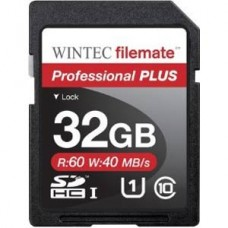Wintec Filemate Professional Plus 32GB Secure Digital High-Capacity SDHC Flash Card