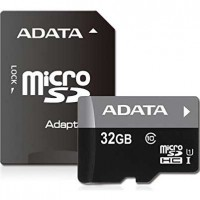 ADATA 32GB microSDHC UHS-I U1 Memory Card with SD Adapter (AUSDH32GUICL10-RA1)
