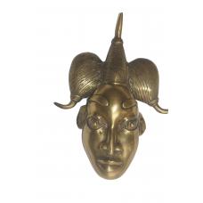 masque en cuivre