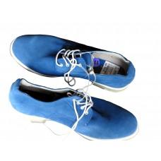 Chaussure En Daim - bleu