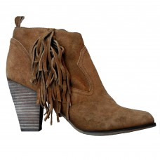 Women Belted Chunky Stacked Heel Ankle Booties