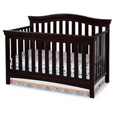 Elegant Wood Baby Cradle