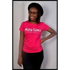 Womens MUNA SAWA t-shirt