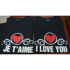 T-SHIRT I LOVE YOU