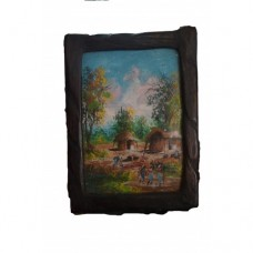 GENUINE AFRICAN WOOD FRAME-SUZY ARTS